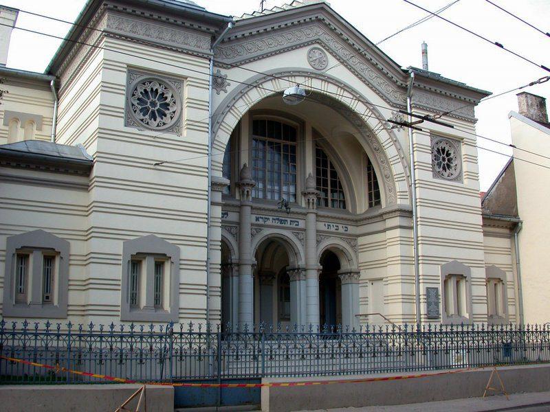 Синагога в Вильнюсе, которая действовала во времена Хафец Хаима