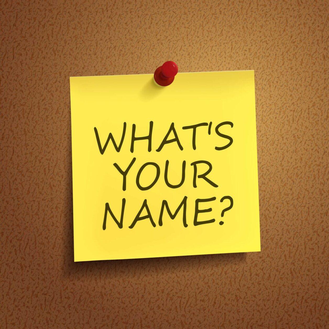 Как выбрать еврейское имя