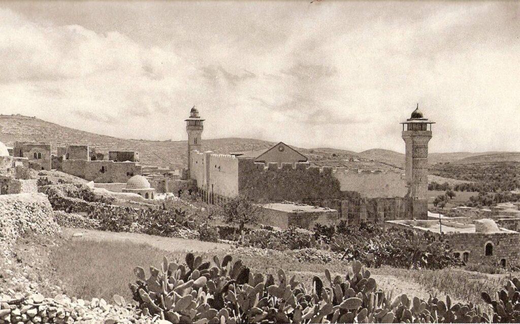 Меарат а-Махпела 100 лет назад