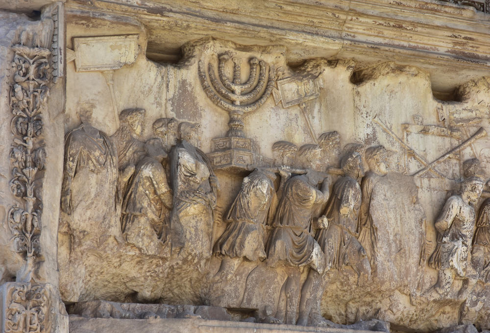 Menorah in the Arch of Titus