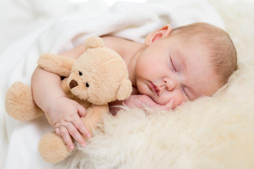 ребенок, младенец спит