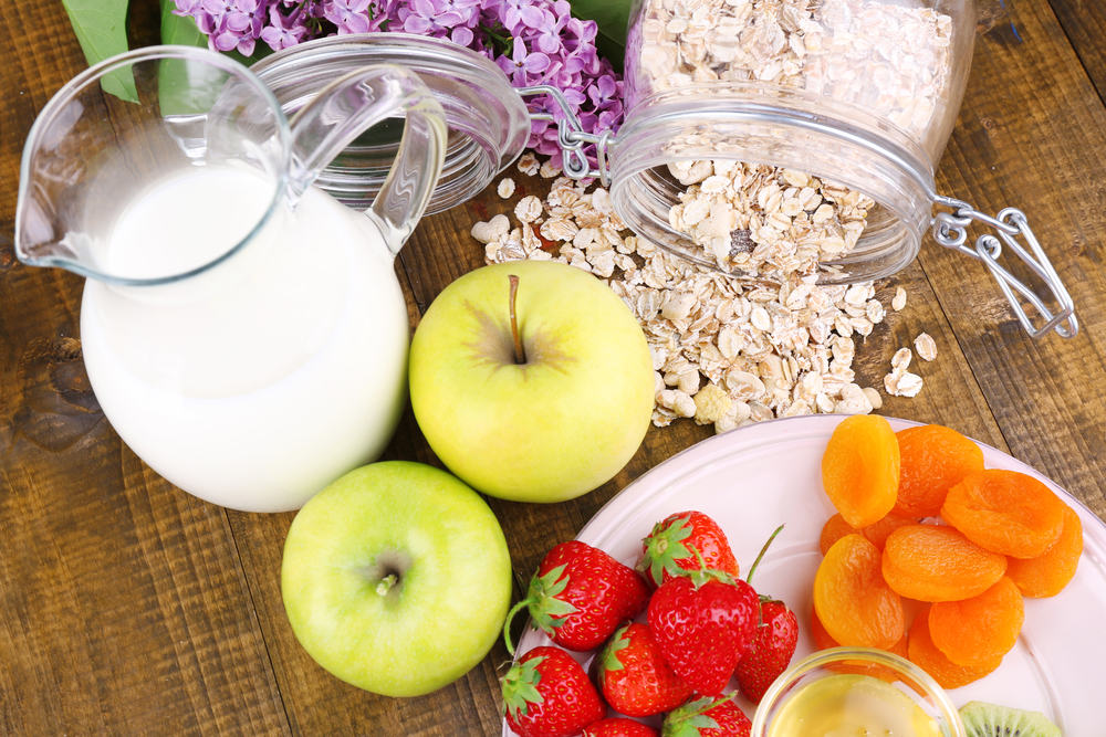 Диета молочно фруктовая
