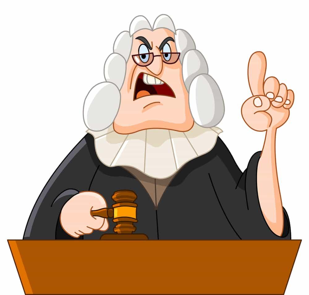 Открытки гифка, судья картинки смешные