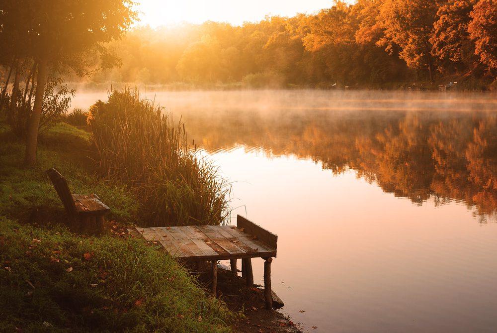 Спокойствие, пейзаж, упование, вера