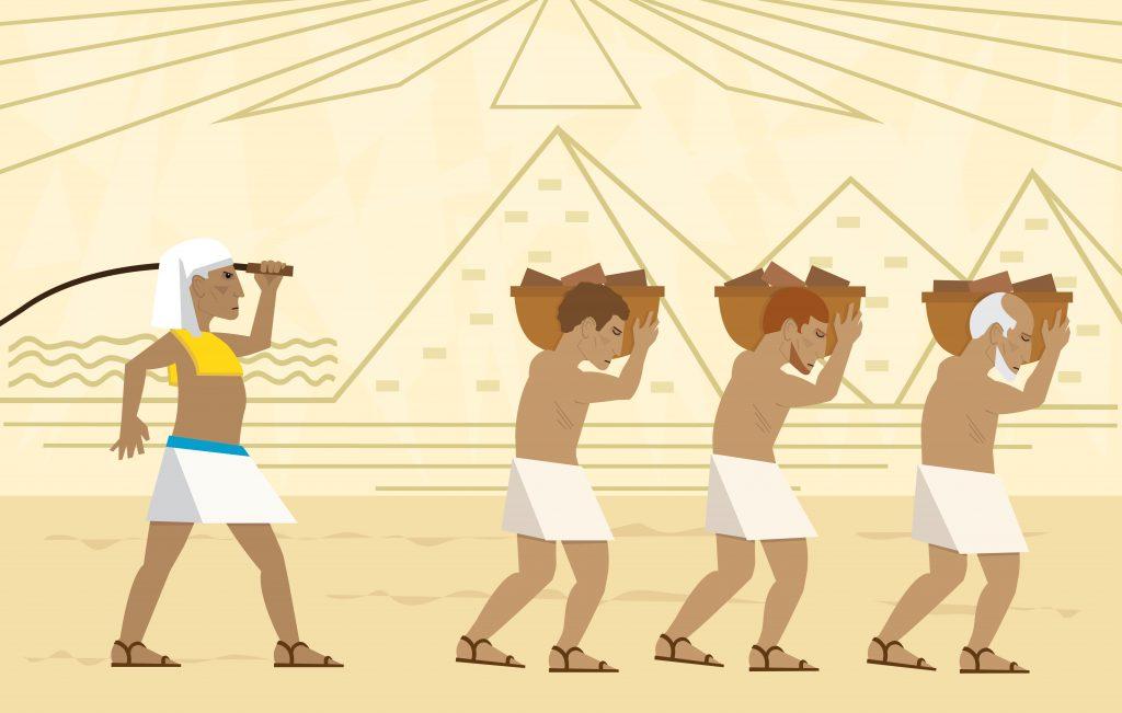рабы в Египте