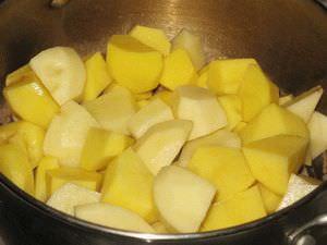 карпас, картошка